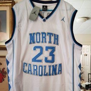 #23 Michael Jordan North Carolina Jersey